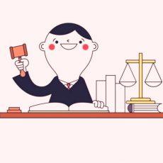 Судья, весы правосудия