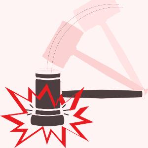 Удар судебного молотка